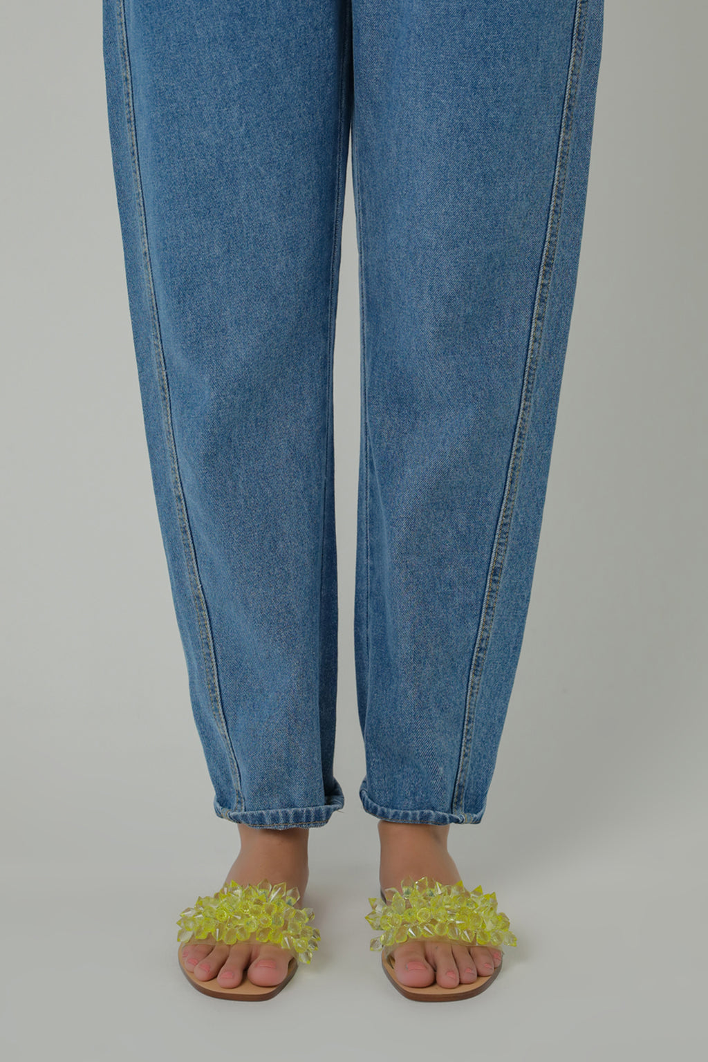 SLOUCHY JEANS (WBF111661) - Ethnic by Outfitters