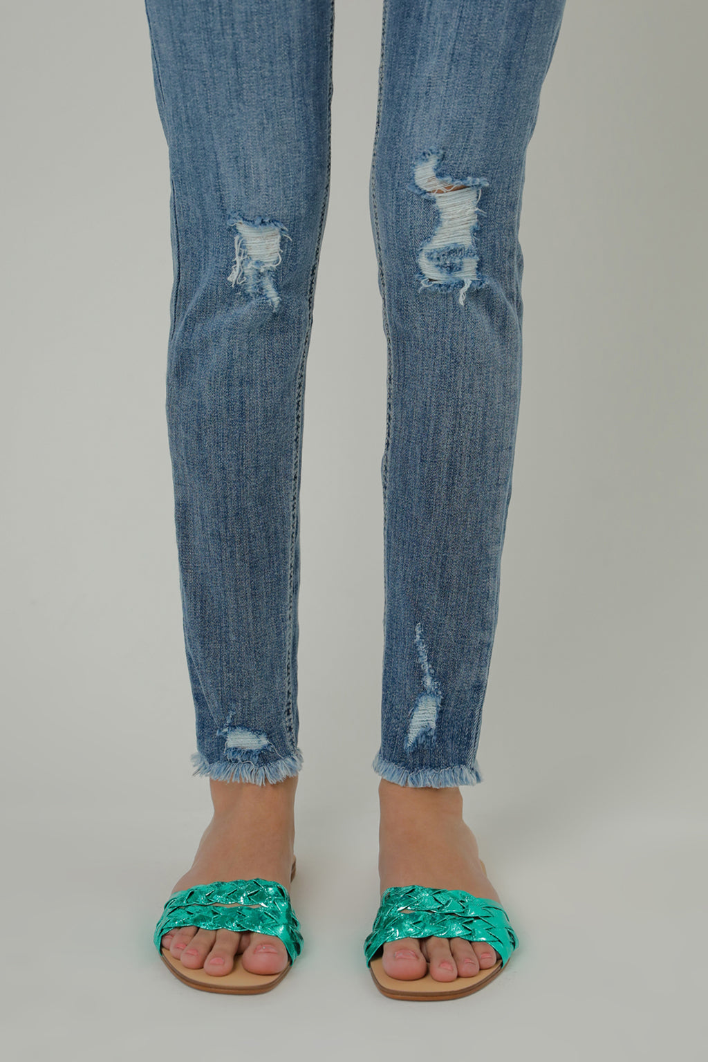 SKINNY JEANS (WBF111665) - Ethnic by Outfitters