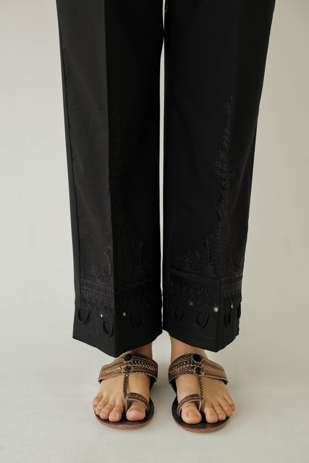 STRAIGHT FIT TROUSER (WBP401684) - Ethnic by Outfitters