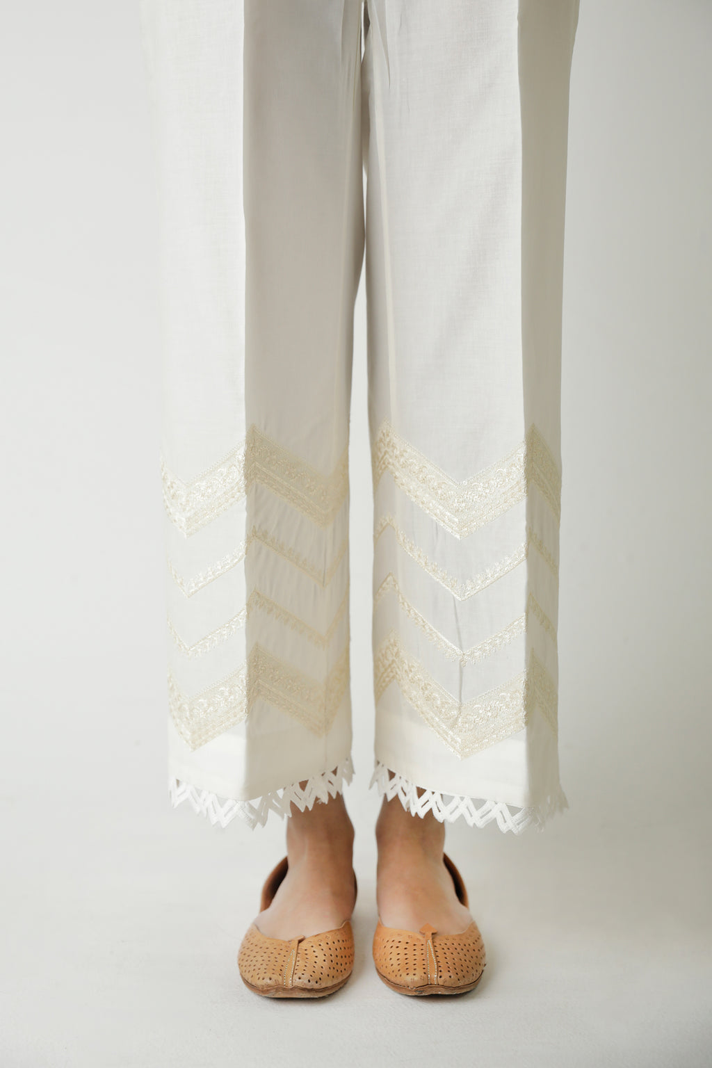 STRAIGHT FIT TROUSER (WBR111468) - Ethnic by Outfitters