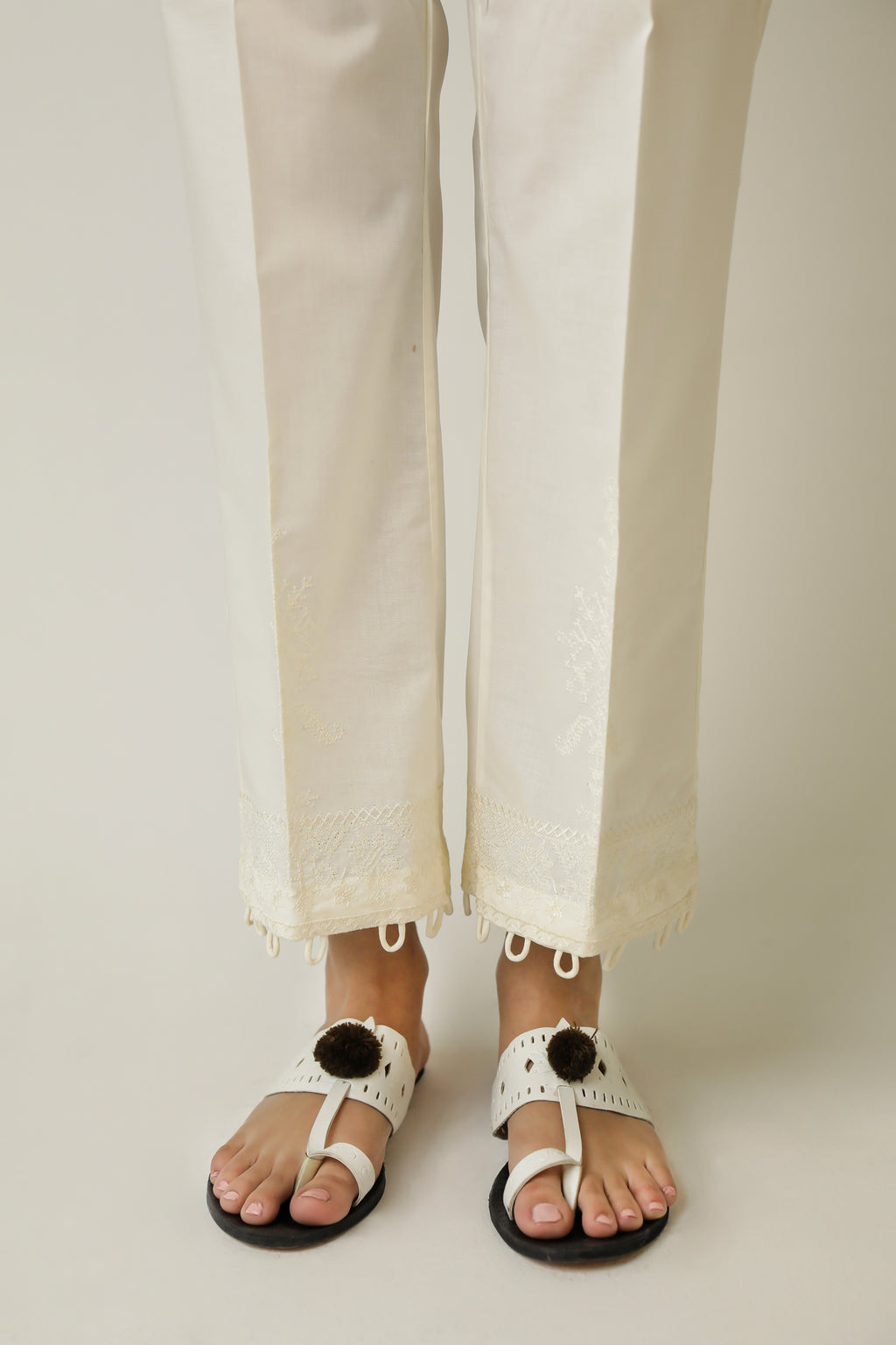 STRAIGHT FIT TROUSER (WBR111476) - Ethnic by Outfitters