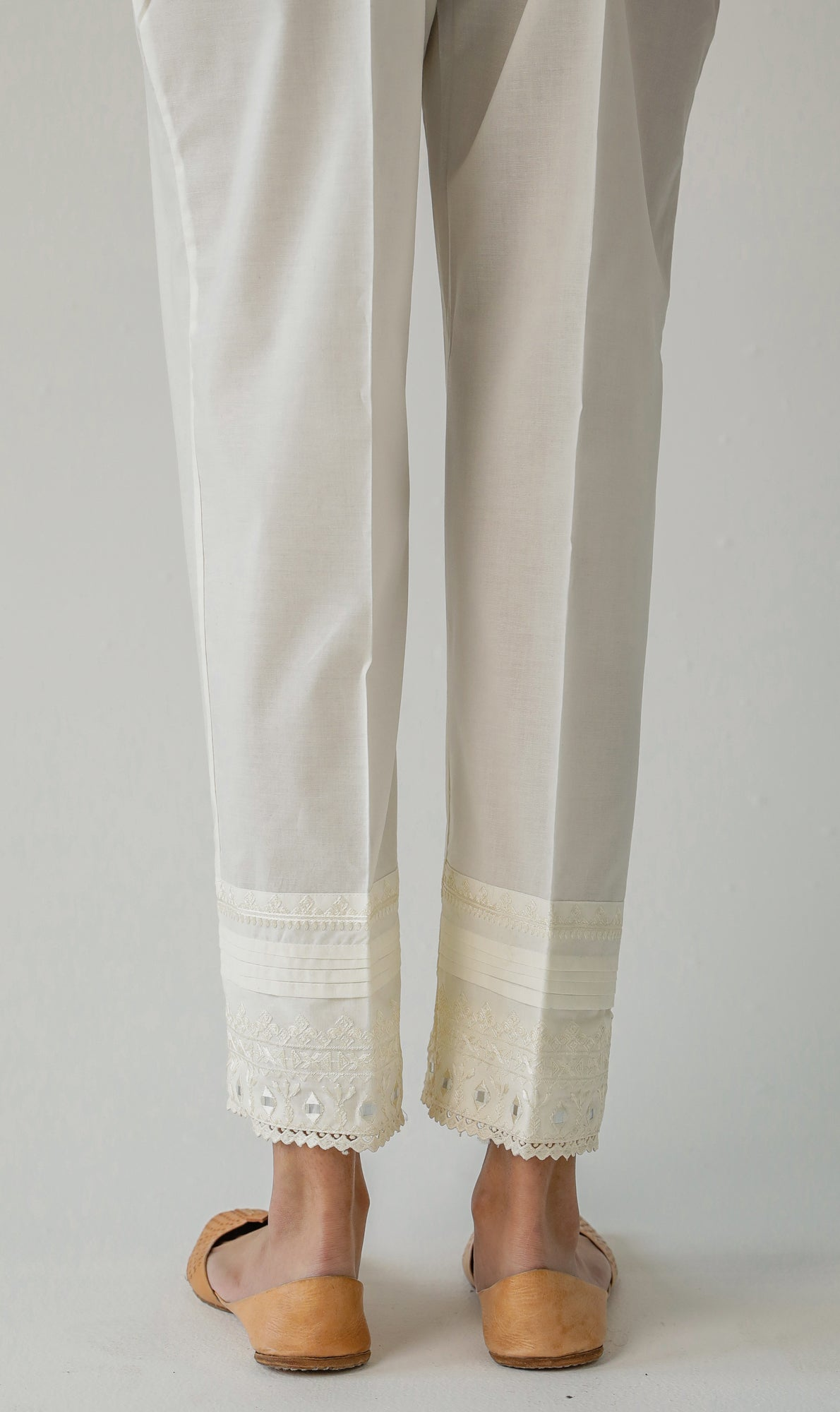 STRAIGHT FIT TROUSER (WBR111477) - Ethnic by Outfitters