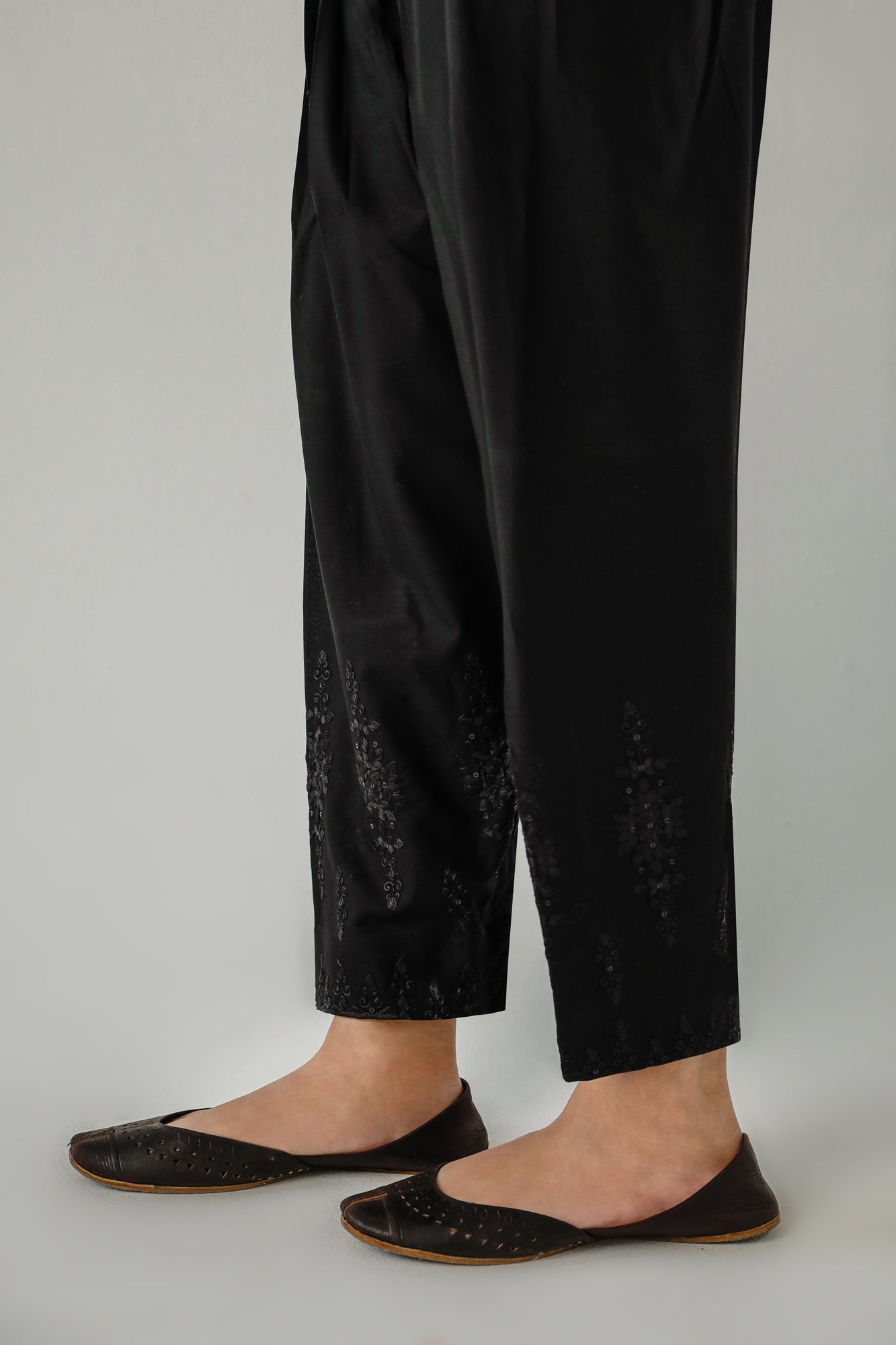 NARROW SHALWAR (WBR111478) - Ethnic by Outfitters