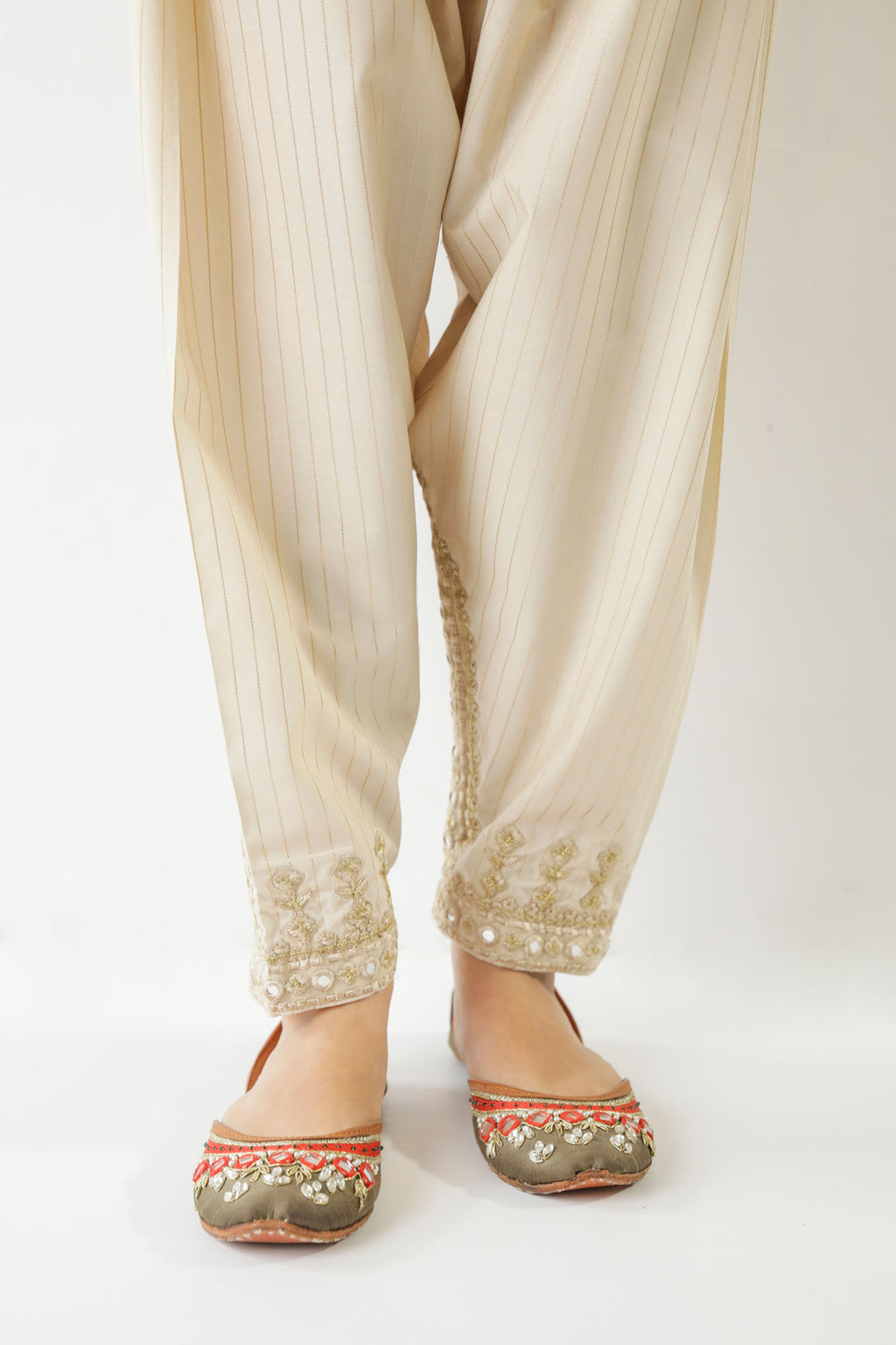 Rozana Trouser (WBR201340) - Ethnic by Outfitters