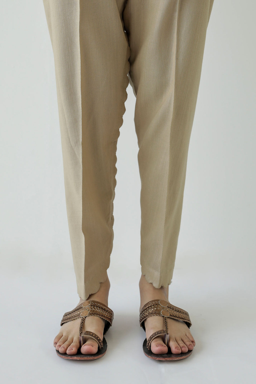 NARROW TULIP PANTS (WBC401164) - Ethnic by Outfitters