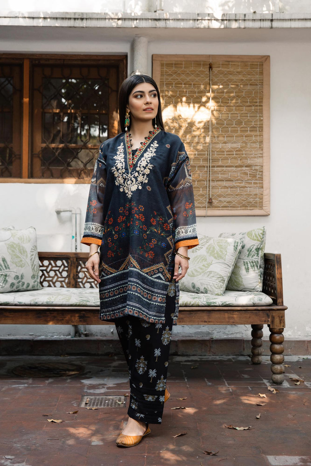 Boutique Shirt (WTB101629) - Ethnic by Outfitters