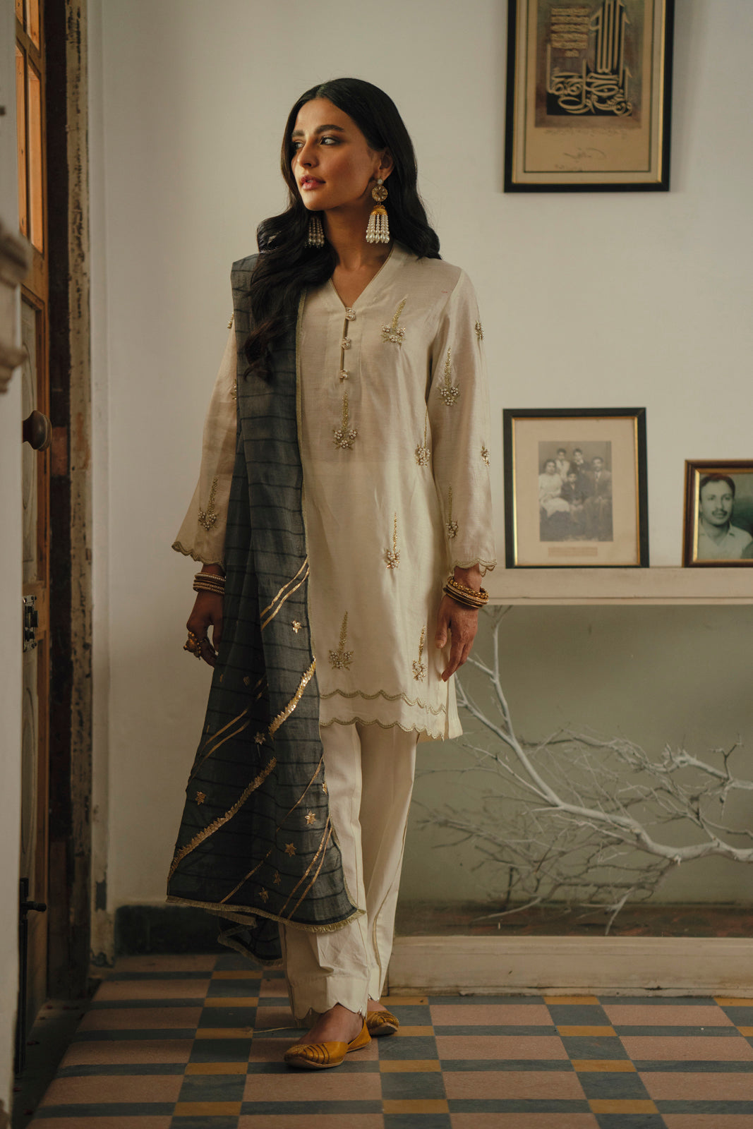 Boutique suit (Shirt + Dupatta)