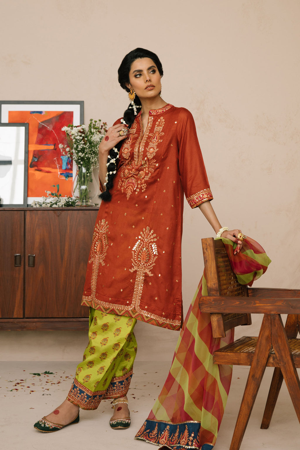 Boutique Suit (WTB101740) - Ethnic by Outfitters