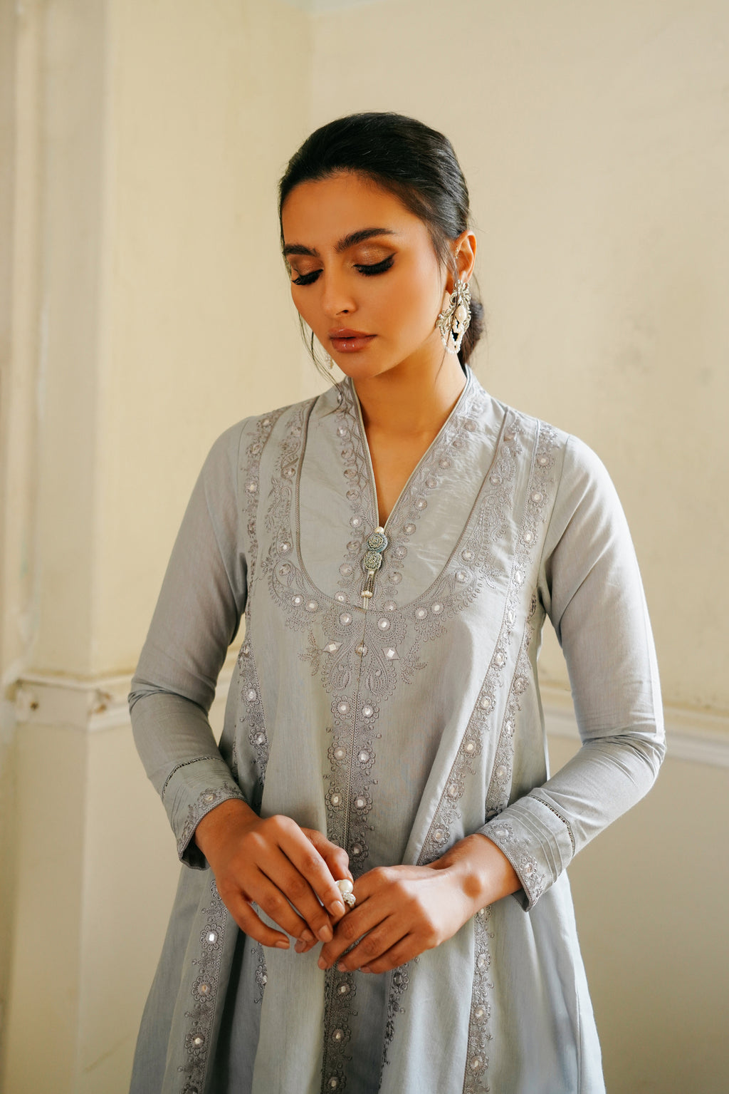 EMBROIDERED SUIT (WTB111521) - Ethnic by Outfitters