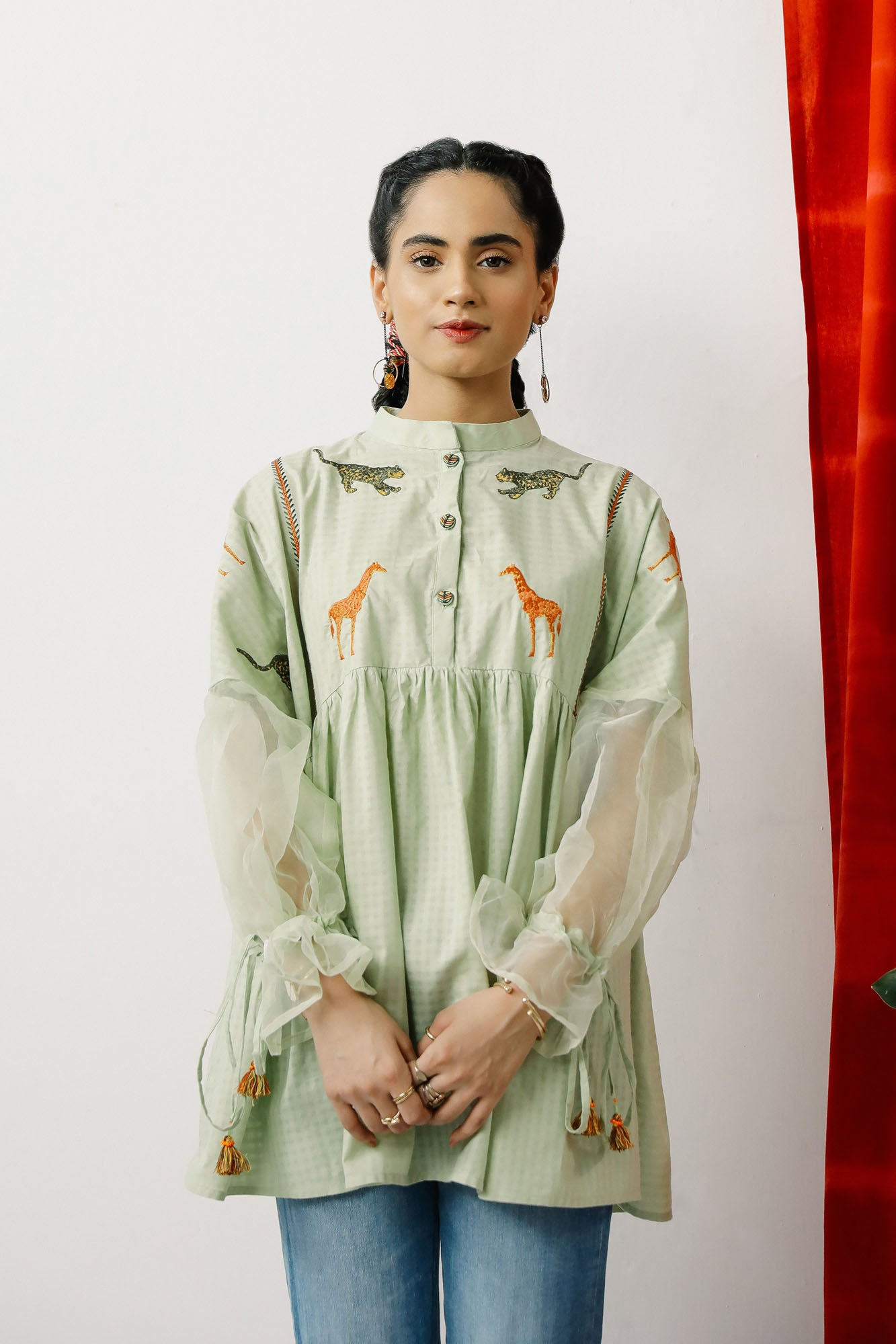 Fusion Kurti (WTB201468) - Ethnic by Outfitters