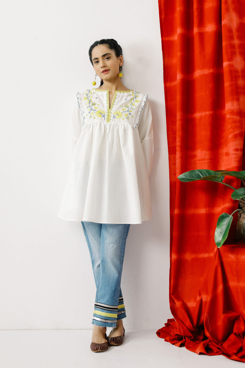 Fusion Kurti (WTB201473) - Ethnic by Outfitters