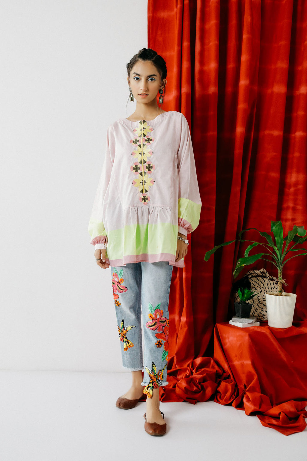 Boutique Kurti (WTB201477) - Ethnic by Outfitters