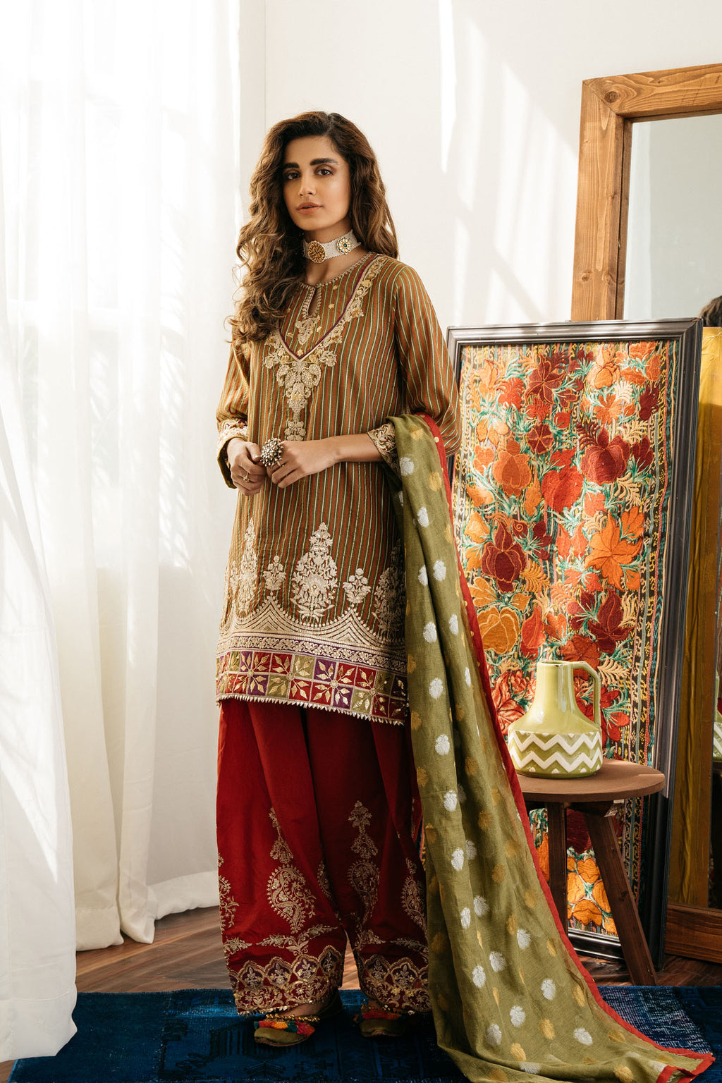 BOUTIQUE SUIT (WTB201497) - Ethnic by Outfitters