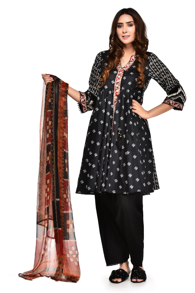 Boutique Suit shirt  Dupatta