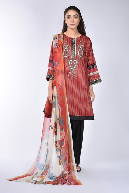 Boutique Suit (shirt & Dupatta)