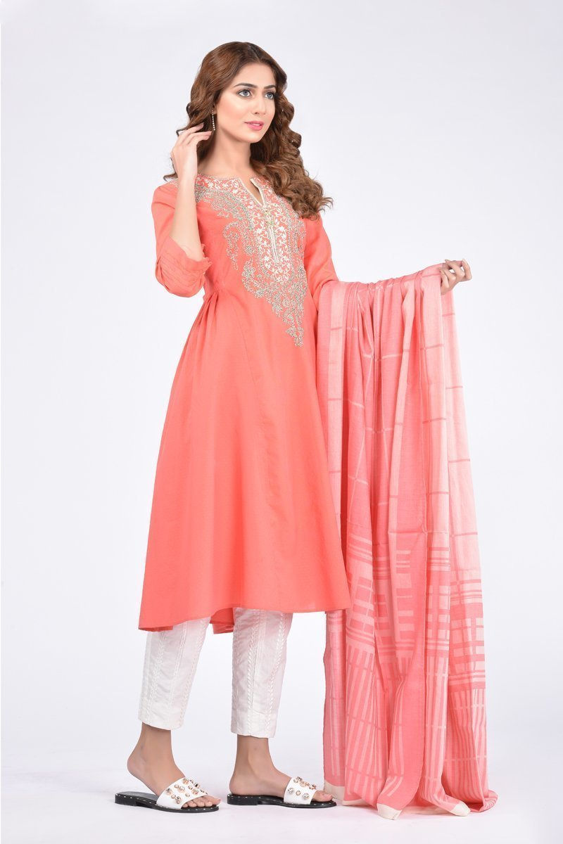 Boutique Suit(Shirt + Dupatta)
