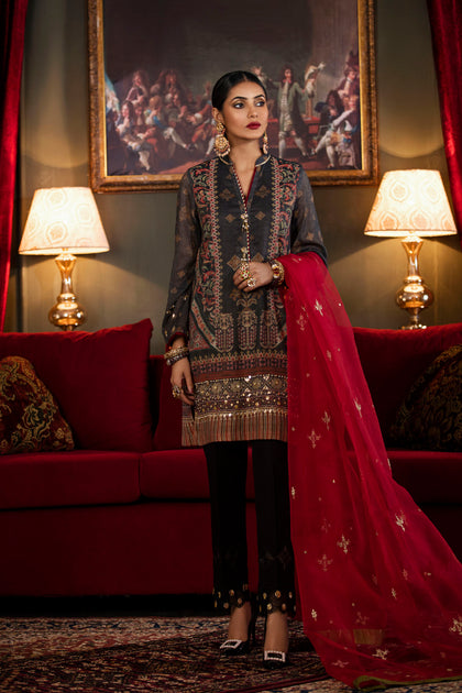 Boutique Suits (Shirt + Dupatta)