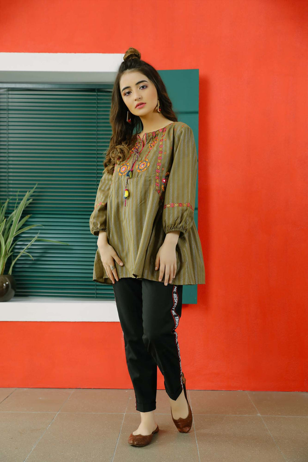 Fusion Top (WTB101559) - Ethnic by Outfitters
