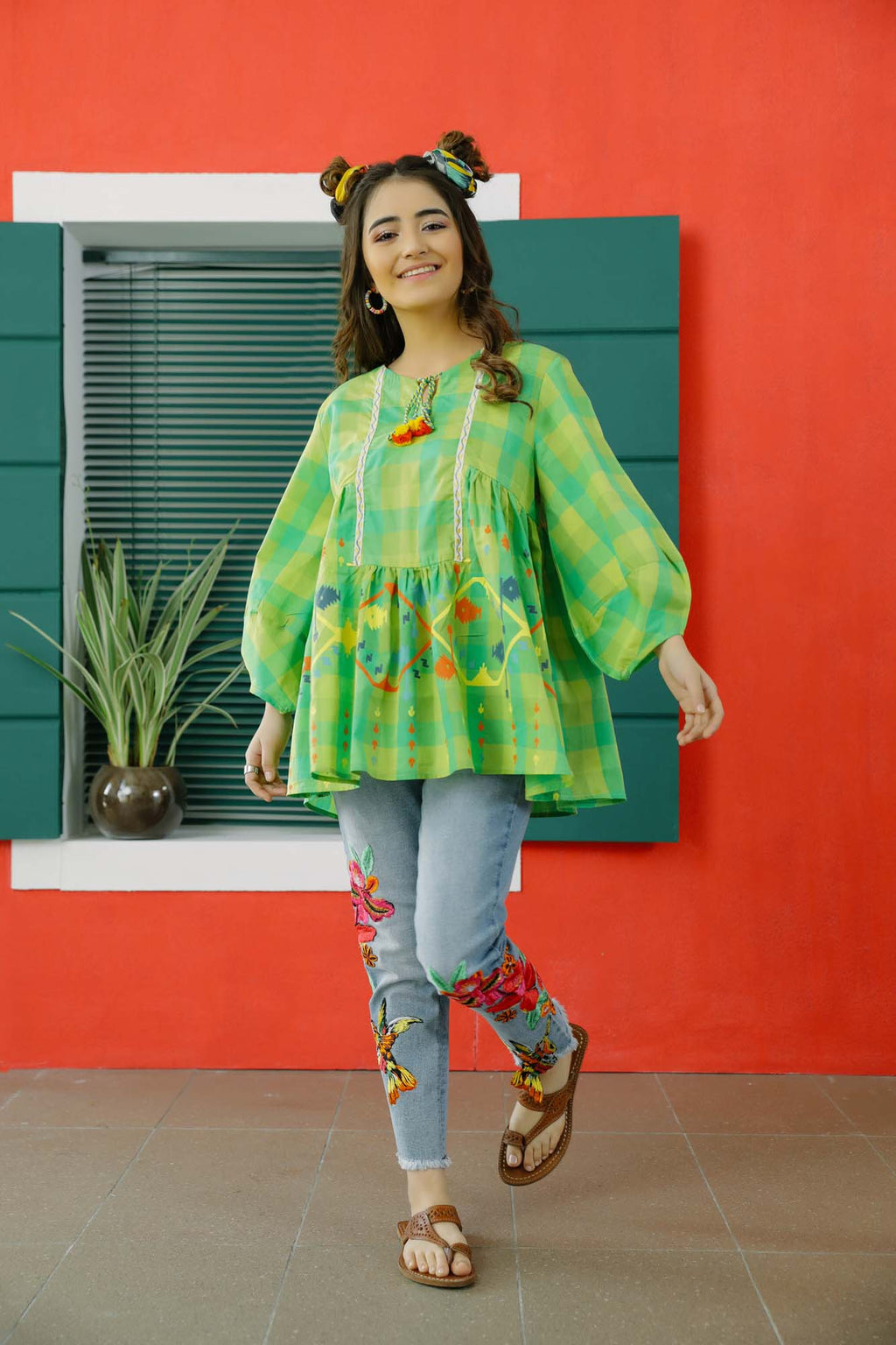 Fusion Top (WTB101561) - Ethnic by Outfitters