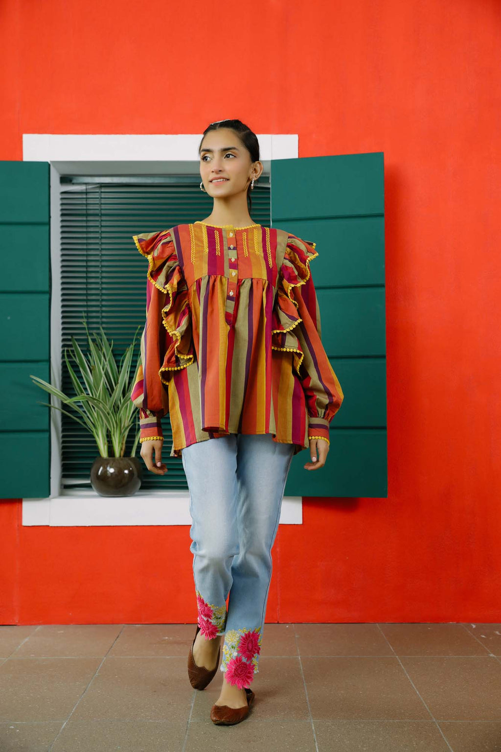 Fusion Top (WTB101571) - Ethnic by Outfitters
