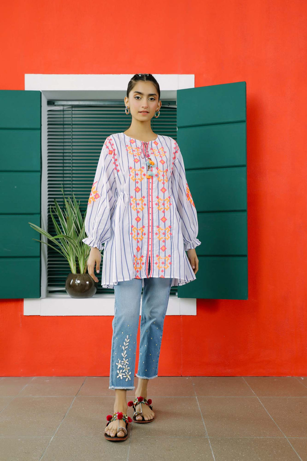 Fusion Kurti (WTB101589) - Ethnic by Outfitters