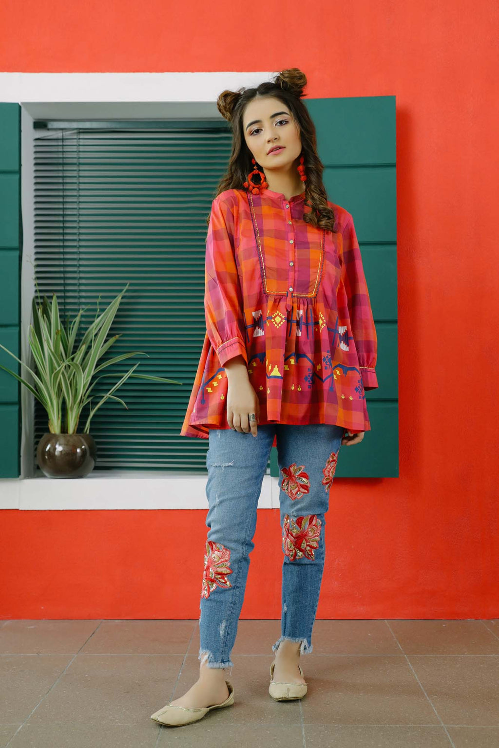 Fusion Kurti (WTB101591) - Ethnic by Outfitters