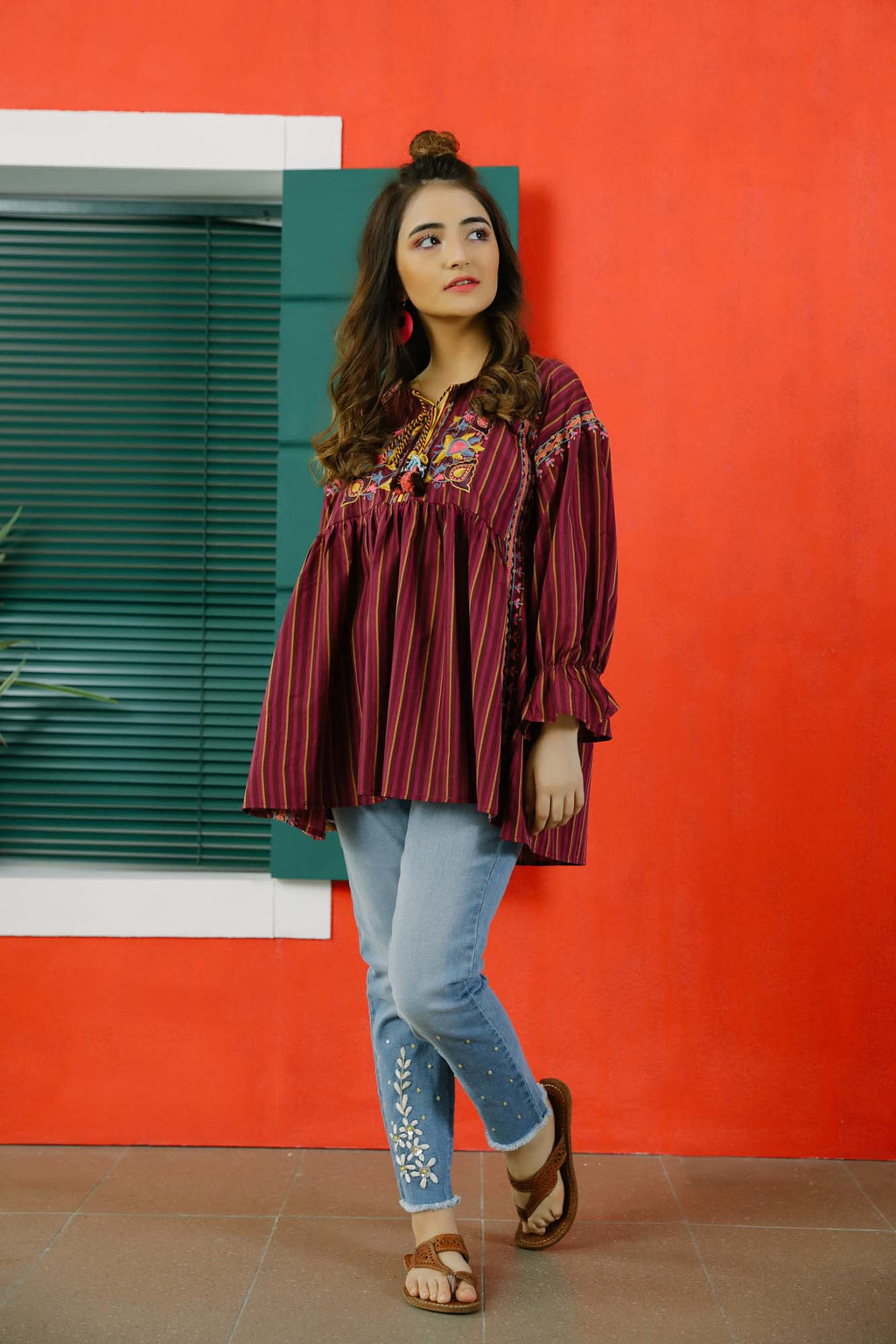 Fusion Kurti (WTB101601) - Ethnic by Outfitters