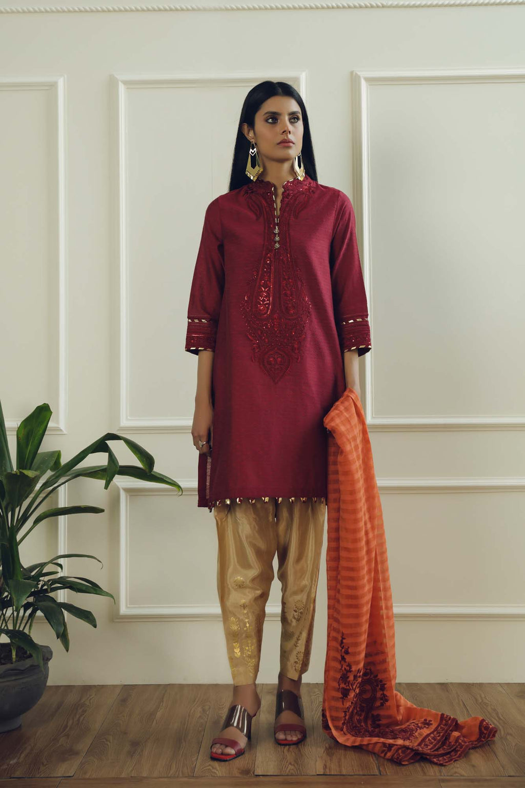 Boutique Suit (WTB101661) - Ethnic by Outfitters