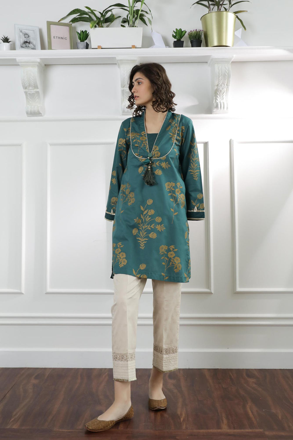 Casual Shirt (WTC101075) - Ethnic by Outfitters