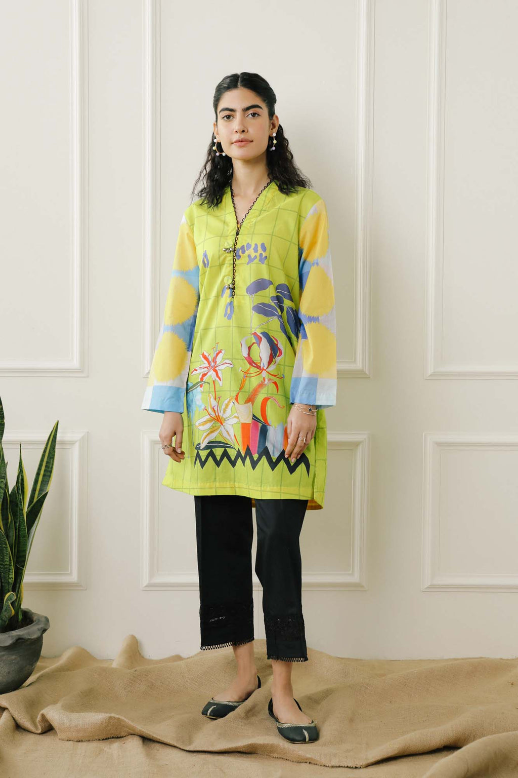 Casual Shirt (WTC101814) - Ethnic by Outfitters