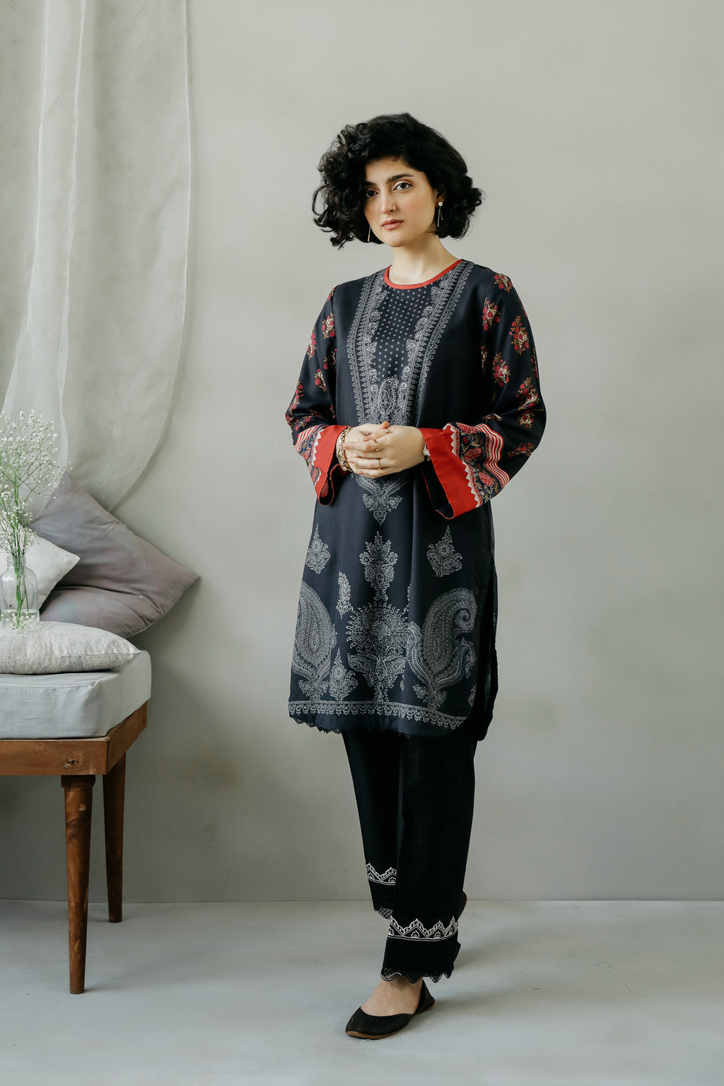 PRINTED SHIRT (WTC111068) - Ethnic by Outfitters