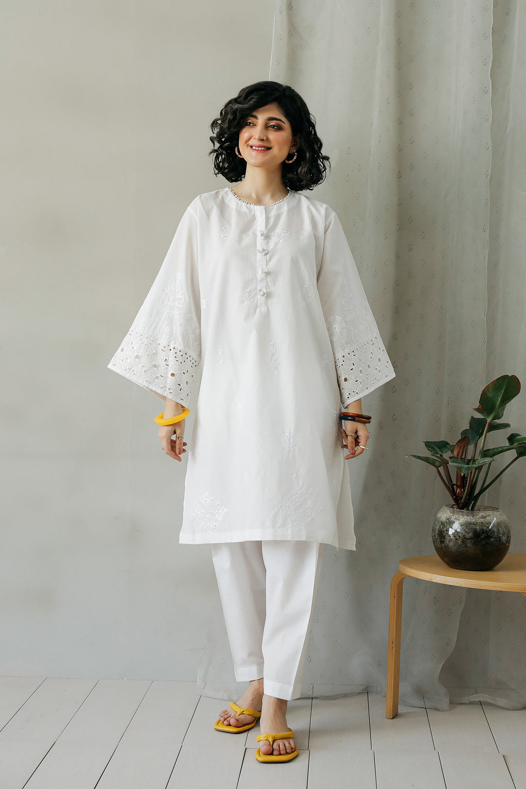 EMBROIDERED SHIRT (WTC111100) - Ethnic by Outfitters