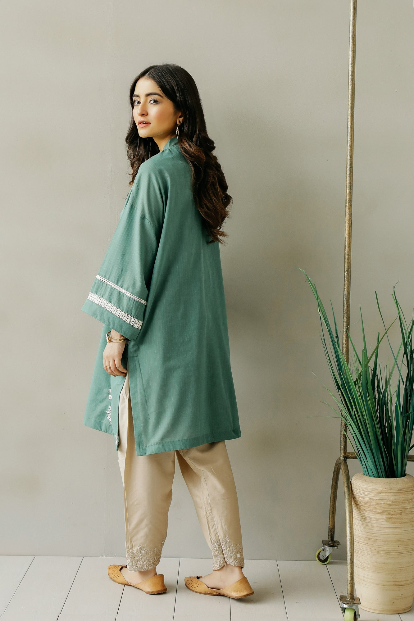 EMBROIDERED SHIRT (WTC111130) - Ethnic by Outfitters