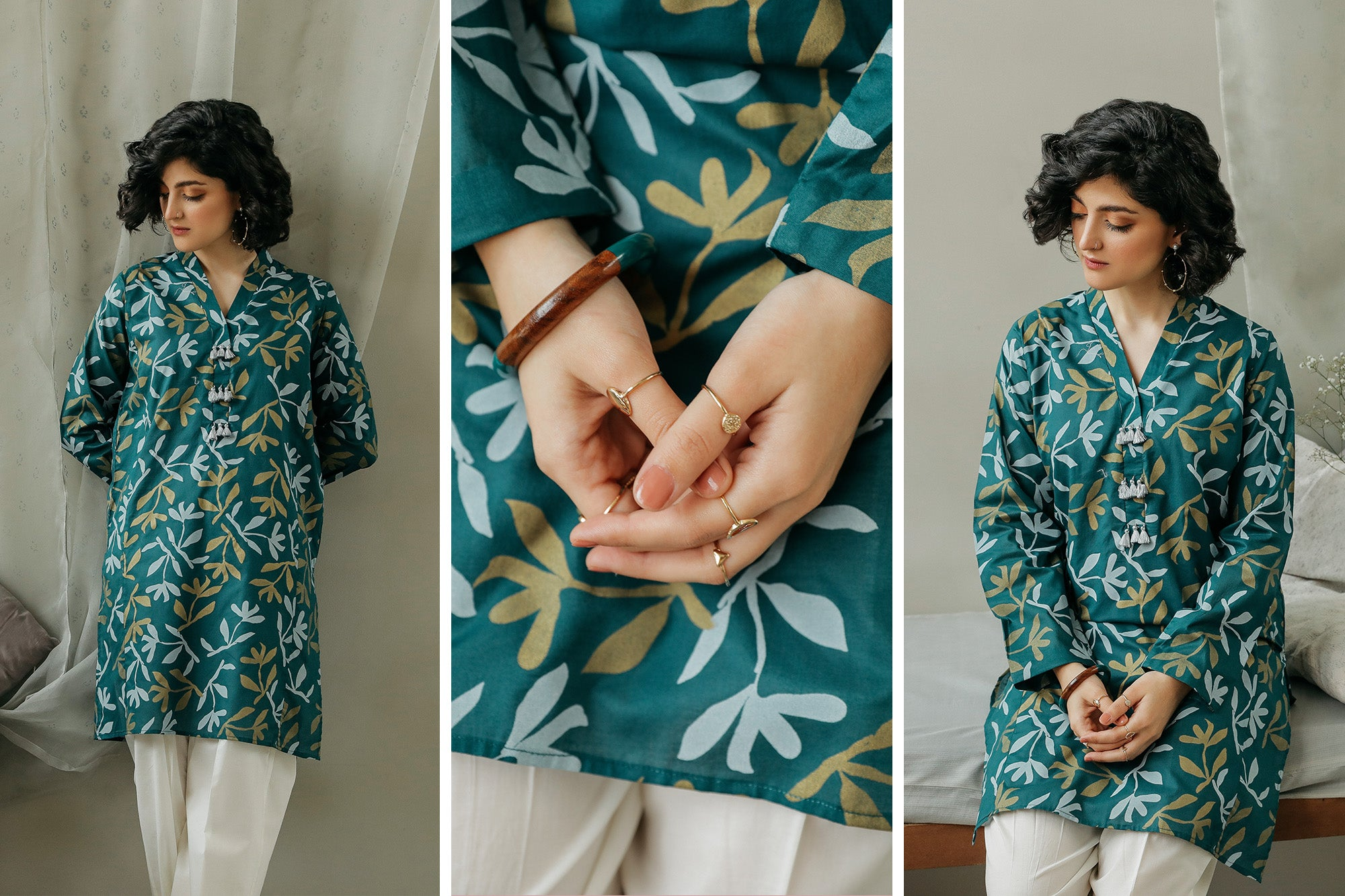 PRINTED SHIRT (WTC111923) - Ethnic by Outfitters