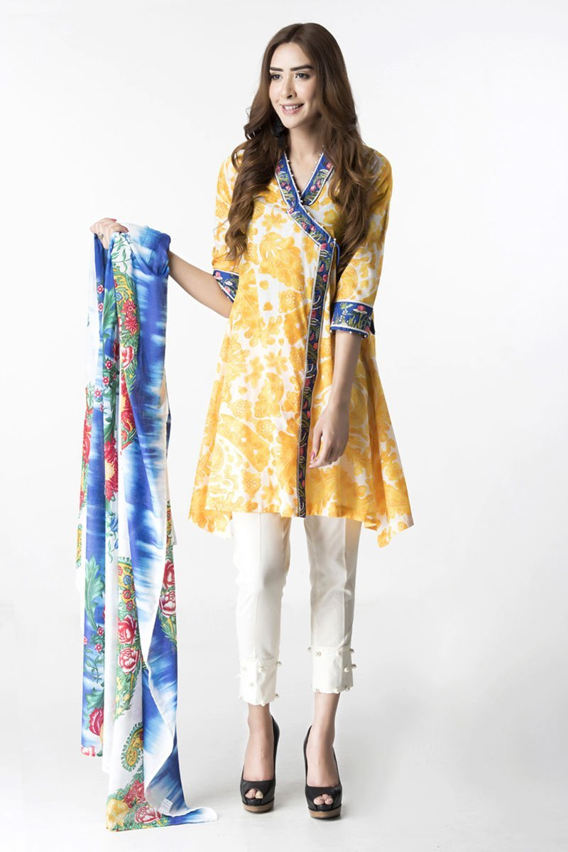 CASUAL SHIRT AND DUPATTA