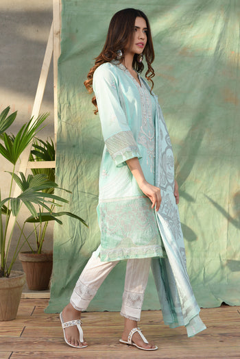 Casual Suit(Shirt + Dupatta)