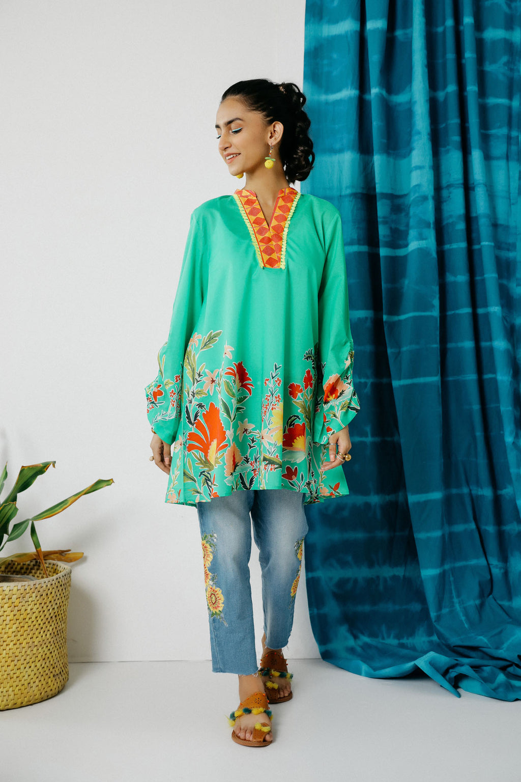 Fusion Kurti (WTC201016) - Ethnic by Outfitters