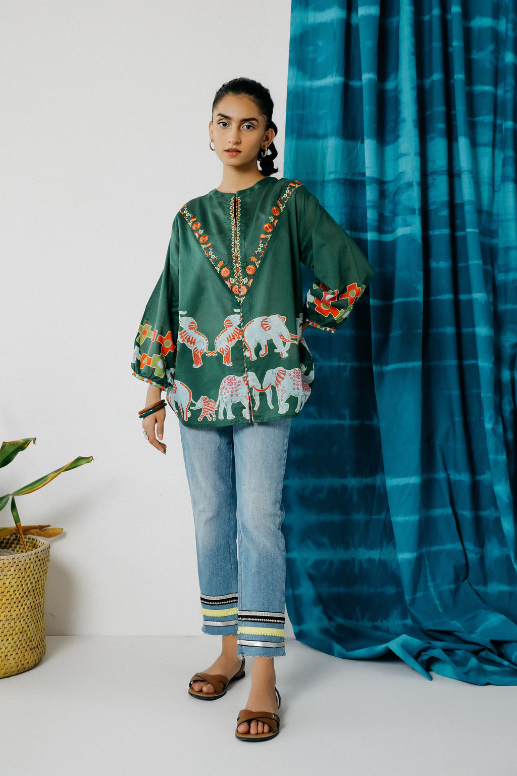 Fusion Kurti (WTC201019) - Ethnic by Outfitters