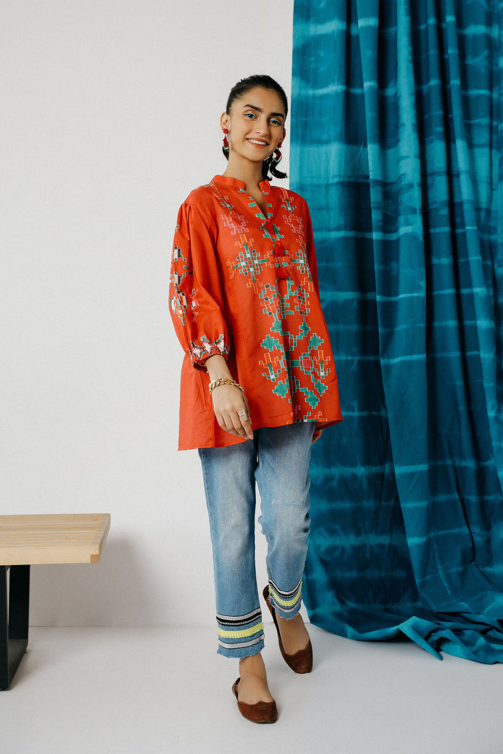 Fusion Kurti (WTC201023) - Ethnic by Outfitters