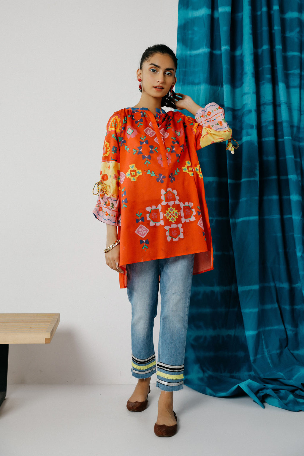 Fusion Kurti (WTC201025) - Ethnic by Outfitters