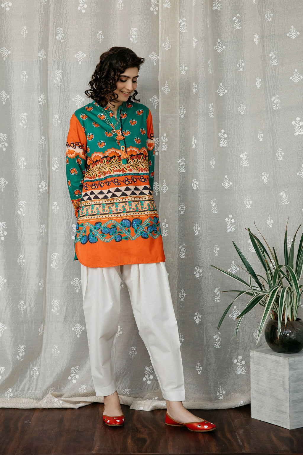 Casual Shirt (WTC201215) - Ethnic by Outfitters