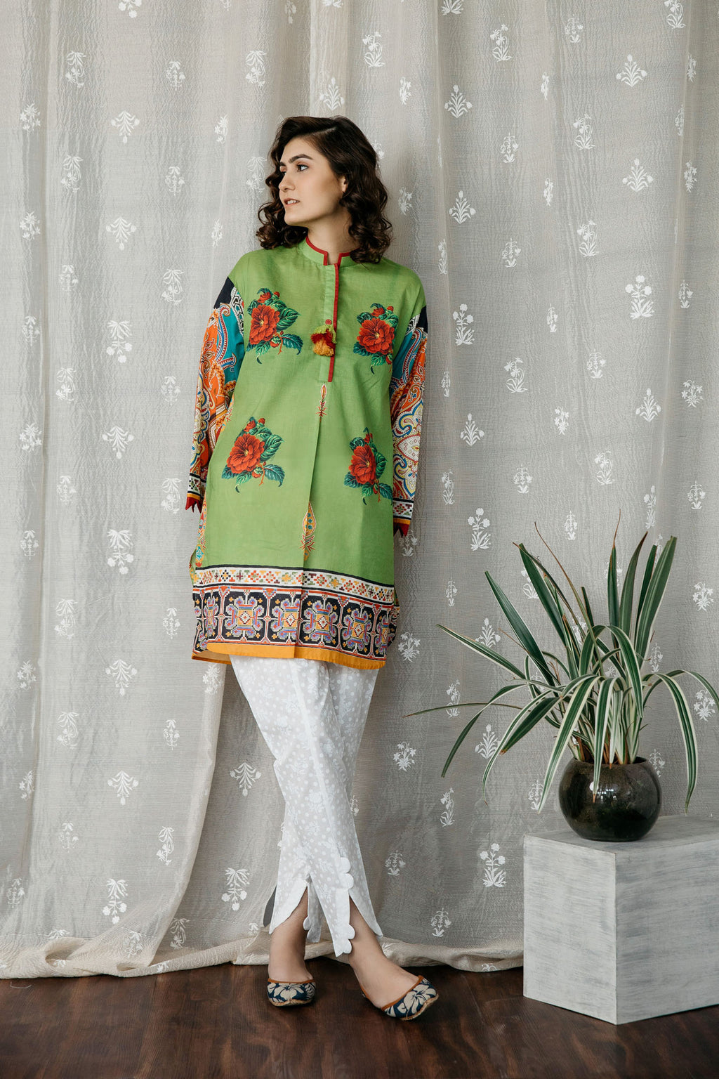Casual Shirt (WTC201219) - Ethnic by Outfitters