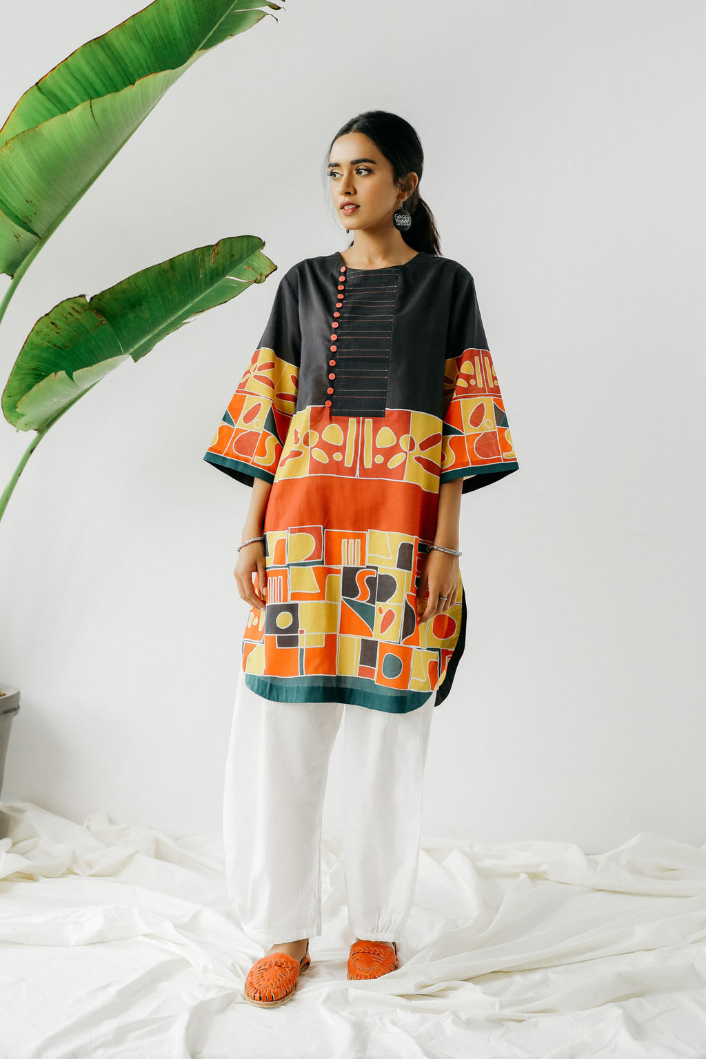 Casual Shirt (WTC301040) - Ethnic by Outfitters