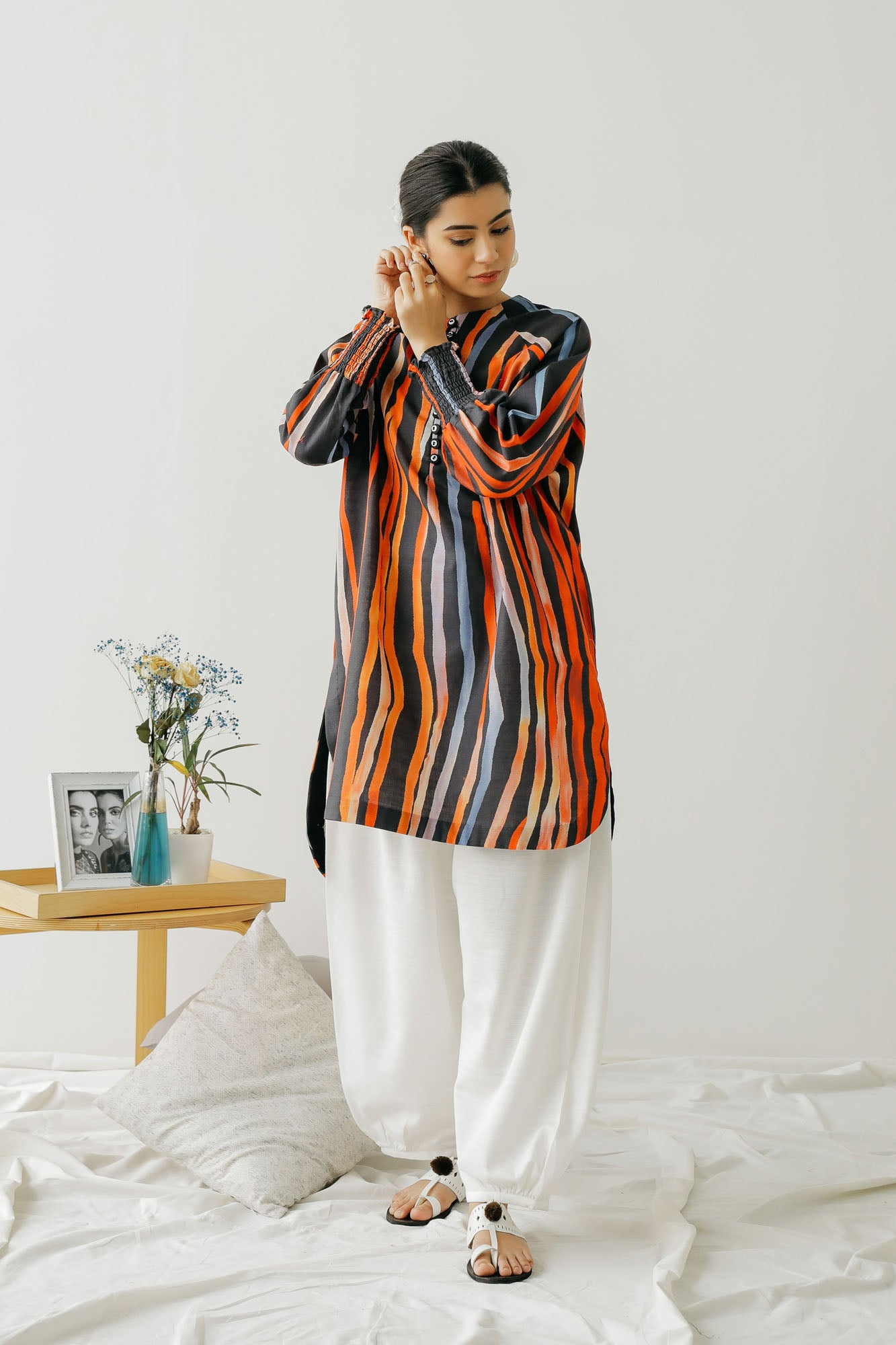 PRINTED SHIRT (WTC401261) - Ethnic by Outfitters