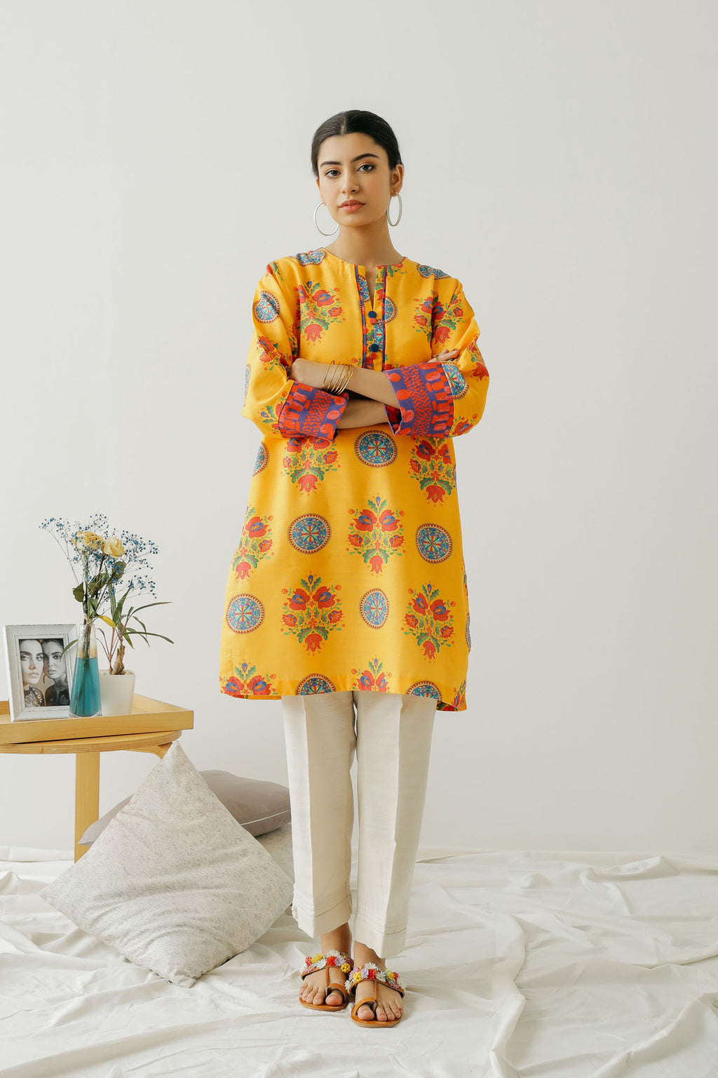 PRINTED SHIRT (WTC401262) - Ethnic by Outfitters