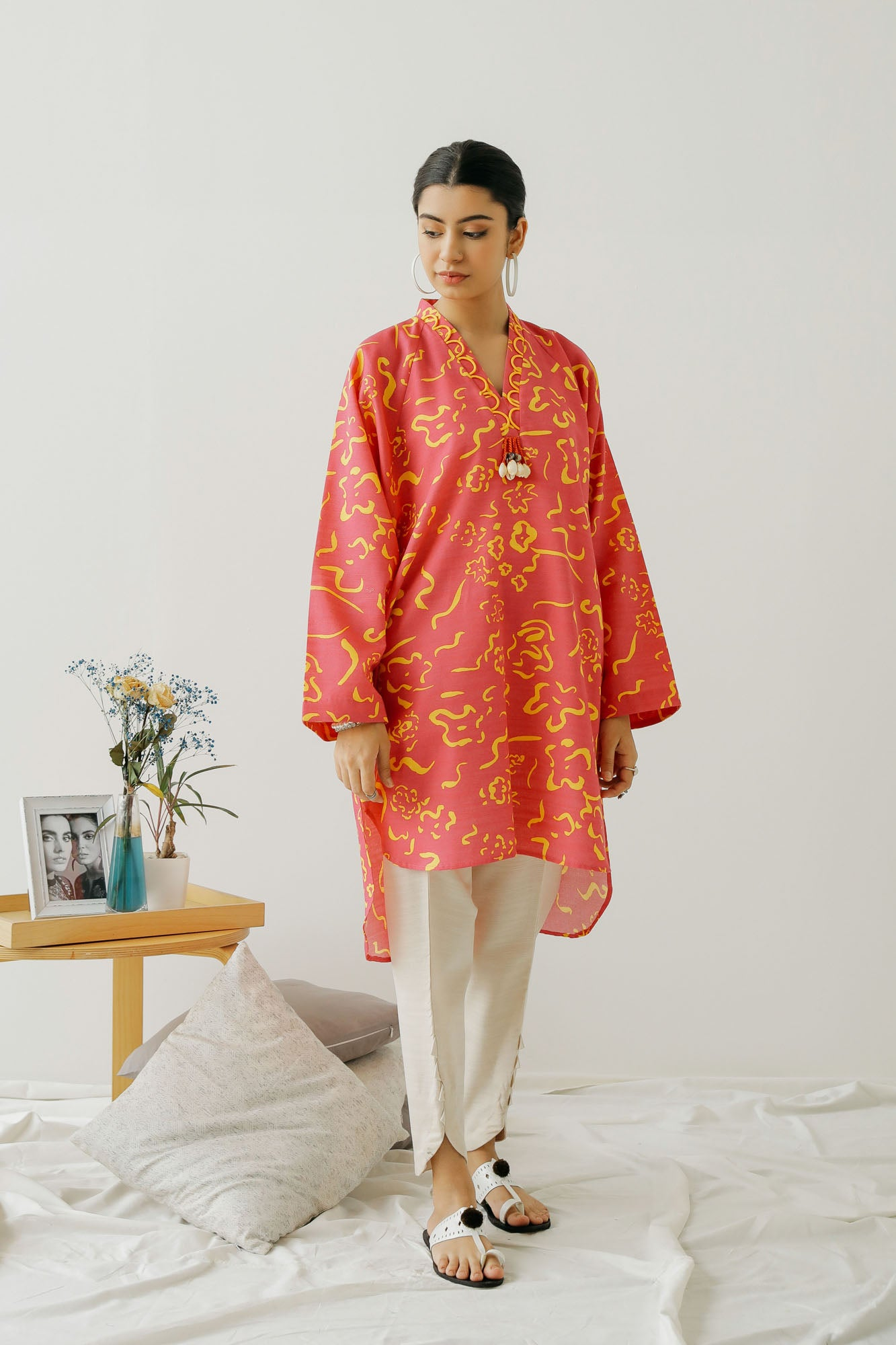 PRINTED SHIRT (WTC401263) - Ethnic by Outfitters