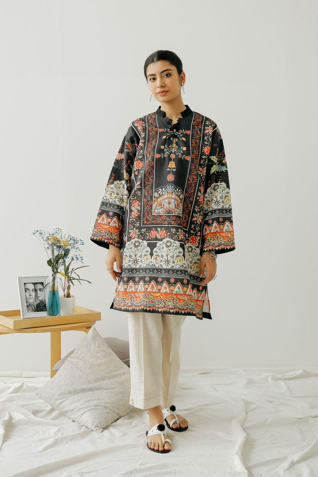 PRINTED SHIRT (WTC401269) - Ethnic by Outfitters