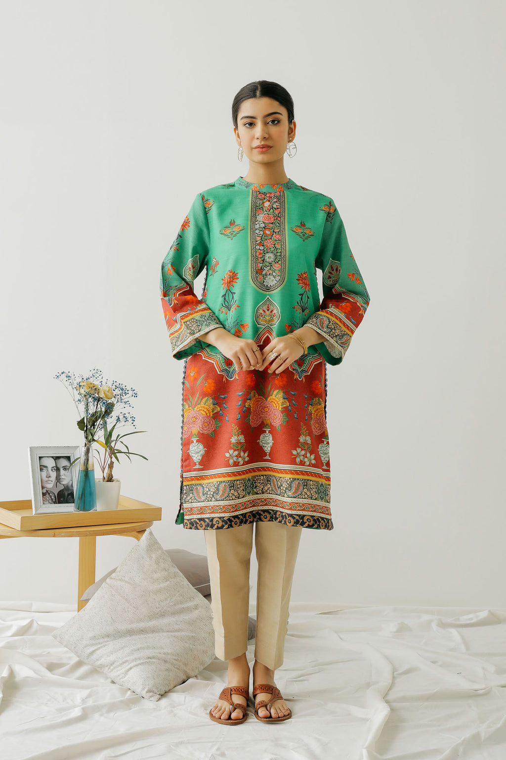 PRINTED SHIRT (WTC401270) - Ethnic by Outfitters