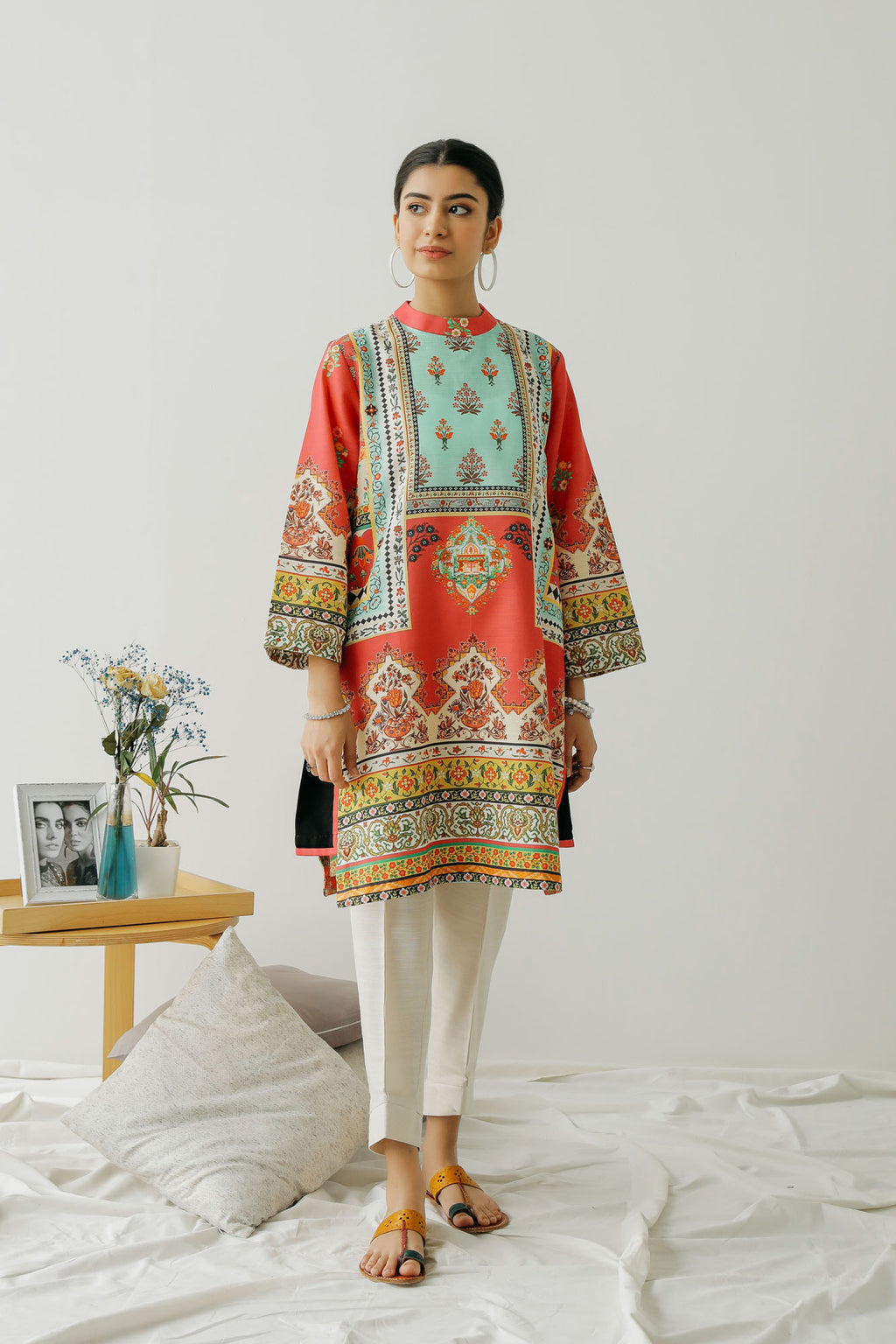 PRINTED SHIRT (WTC401272) - Ethnic by Outfitters