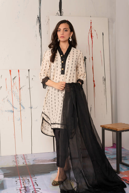Casual Suit (Shirt + Dupatta)